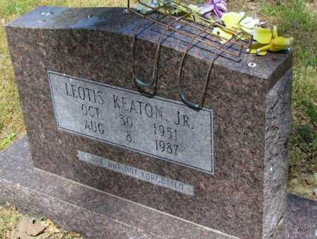 KEATON, JR, LEOTIS - Monroe County, Arkansas   LEOTIS KEATON, JR - Arkansas Gravestone Photos