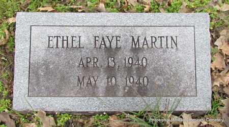 MARTIN, ETHEL FAYE - Monroe County, Arkansas | ETHEL FAYE MARTIN - Arkansas Gravestone Photos