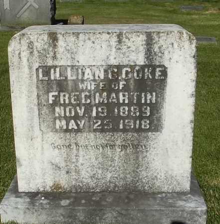MARTIN, LILLIAN G - Monroe County, Arkansas | LILLIAN G MARTIN - Arkansas Gravestone Photos