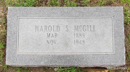 MCGILL, HAROLD S - Monroe County, Arkansas | HAROLD S MCGILL - Arkansas Gravestone Photos