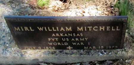 MITCHELL (VETERAN WWI), MIRL WILLIAM - Monroe County, Arkansas | MIRL WILLIAM MITCHELL (VETERAN WWI) - Arkansas Gravestone Photos