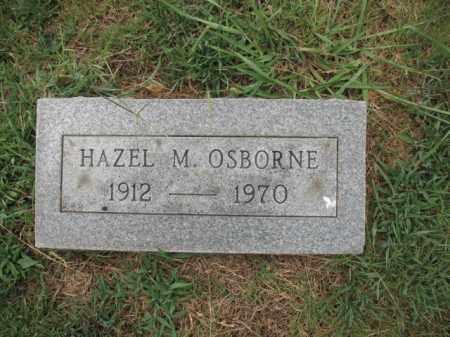 OSBORNE, HAZEL M - Monroe County, Arkansas   HAZEL M OSBORNE - Arkansas Gravestone Photos