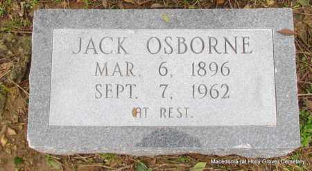 OSBORNE, JACK - Monroe County, Arkansas | JACK OSBORNE - Arkansas Gravestone Photos