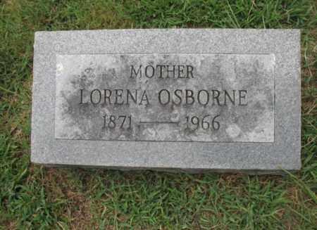OSBORNE, LORENA - Monroe County, Arkansas   LORENA OSBORNE - Arkansas Gravestone Photos