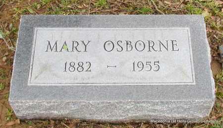 OSBORNE, MARY - Monroe County, Arkansas | MARY OSBORNE - Arkansas Gravestone Photos