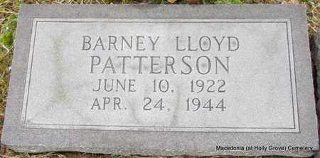PATTERSON, BARNEY LLOYD - Monroe County, Arkansas | BARNEY LLOYD PATTERSON - Arkansas Gravestone Photos