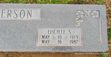 PATTERSON, LUCILLE S (CLOSE UP) - Monroe County, Arkansas | LUCILLE S (CLOSE UP) PATTERSON - Arkansas Gravestone Photos