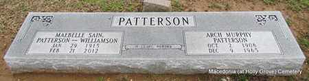 PATTERSON, MAEBELLE - Monroe County, Arkansas | MAEBELLE PATTERSON - Arkansas Gravestone Photos