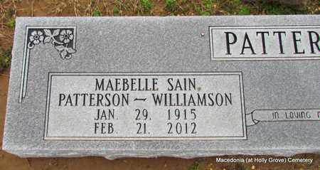 PATTERSON, MAEBELLE (CLOSE UP) - Monroe County, Arkansas | MAEBELLE (CLOSE UP) PATTERSON - Arkansas Gravestone Photos