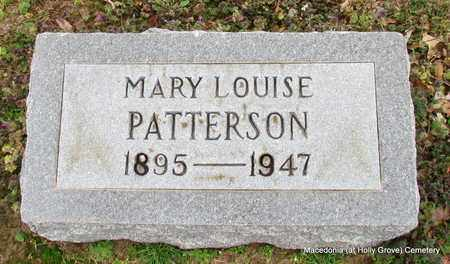 PATTERSON, MARY LOUISE - Monroe County, Arkansas | MARY LOUISE PATTERSON - Arkansas Gravestone Photos