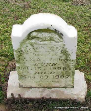 PATTERSON, MARIAH ALICE - Monroe County, Arkansas   MARIAH ALICE PATTERSON - Arkansas Gravestone Photos