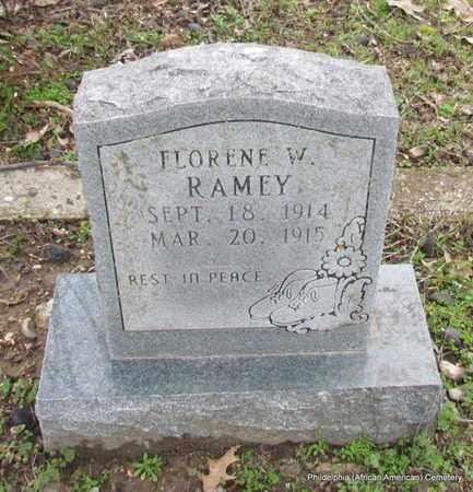 RAMEY, FLORENE W - Monroe County, Arkansas | FLORENE W RAMEY - Arkansas Gravestone Photos