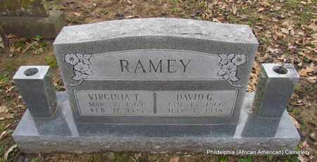 RAMEY, VIRGINIA T - Monroe County, Arkansas | VIRGINIA T RAMEY - Arkansas Gravestone Photos