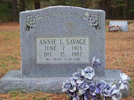 SAVAGE, ANNIE L. - Monroe County, Arkansas | ANNIE L. SAVAGE - Arkansas Gravestone Photos