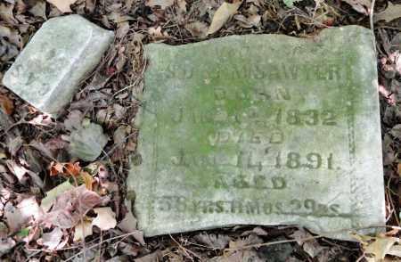 SAWYER, CASSIE ANN - Monroe County, Arkansas | CASSIE ANN SAWYER - Arkansas Gravestone Photos