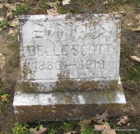 SCOTT, BELLE - Monroe County, Arkansas | BELLE SCOTT - Arkansas Gravestone Photos