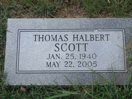 SCOTT, THOMAS HALBERT - Monroe County, Arkansas | THOMAS HALBERT SCOTT - Arkansas Gravestone Photos