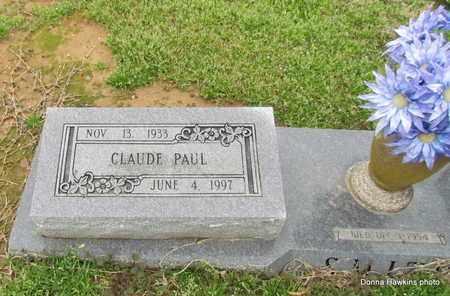 SMITH, CLAUDE PAUL (CLOSE UP) - Monroe County, Arkansas | CLAUDE PAUL (CLOSE UP) SMITH - Arkansas Gravestone Photos