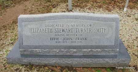SMITH, ELIZABETH TURNER - Monroe County, Arkansas   ELIZABETH TURNER SMITH - Arkansas Gravestone Photos