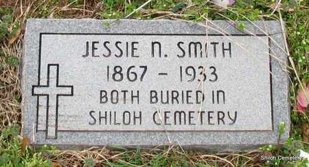 SMITH, JESSIE N (CLOSE UP) - Monroe County, Arkansas | JESSIE N (CLOSE UP) SMITH - Arkansas Gravestone Photos