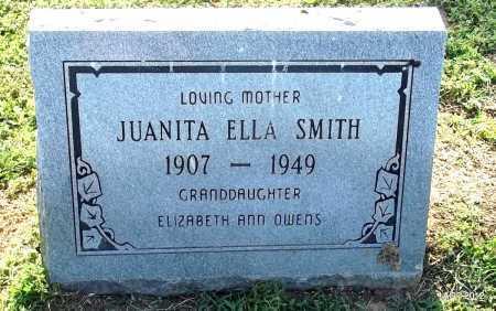 SMITH, JUANITA ELLA - Monroe County, Arkansas | JUANITA ELLA SMITH - Arkansas Gravestone Photos
