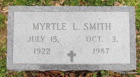 SMITH, MYRTLE L - Monroe County, Arkansas | MYRTLE L SMITH - Arkansas Gravestone Photos