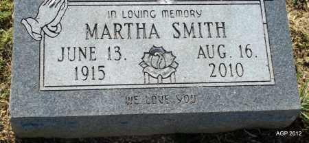 SMITH, MARTHA - Monroe County, Arkansas | MARTHA SMITH - Arkansas Gravestone Photos