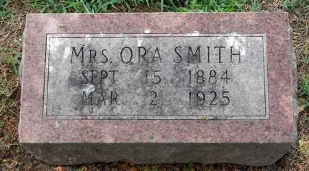 SMITH, ORA (MRS) - Monroe County, Arkansas | ORA (MRS) SMITH - Arkansas Gravestone Photos