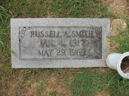 SMITH, RUSSELL A - Monroe County, Arkansas | RUSSELL A SMITH - Arkansas Gravestone Photos