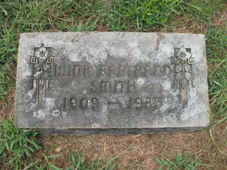 SMITH, WINK - Monroe County, Arkansas | WINK SMITH - Arkansas Gravestone Photos