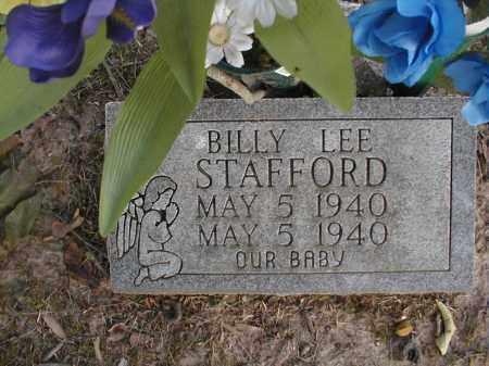 STAFFORD, BILLY LEE - Monroe County, Arkansas | BILLY LEE STAFFORD - Arkansas Gravestone Photos