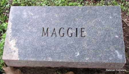 UNKNOWN, MAGGIE - Monroe County, Arkansas | MAGGIE UNKNOWN - Arkansas Gravestone Photos