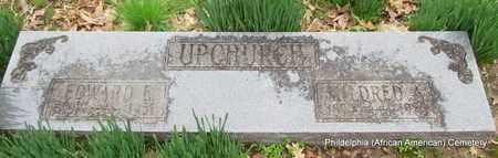 UPCHURCH, EDWARD E - Monroe County, Arkansas   EDWARD E UPCHURCH - Arkansas Gravestone Photos