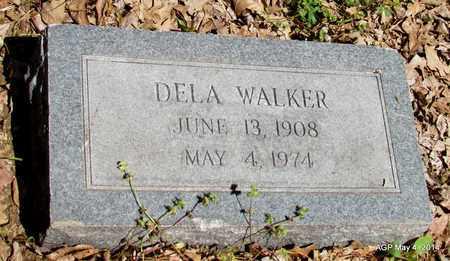 WALKER, DELA - Monroe County, Arkansas | DELA WALKER - Arkansas Gravestone Photos