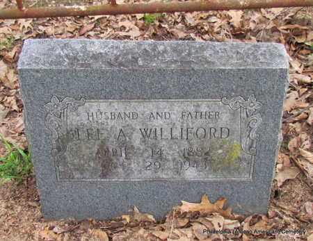 WILLIFORD, LEE A - Monroe County, Arkansas | LEE A WILLIFORD - Arkansas Gravestone Photos