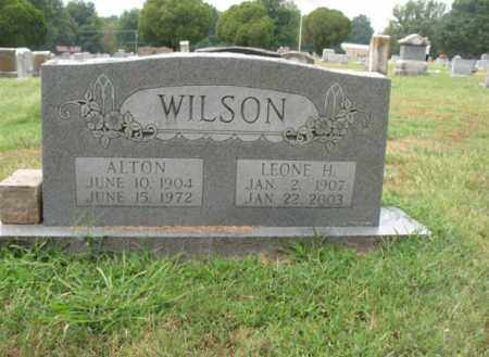 WILSON, ALTON - Monroe County, Arkansas | ALTON WILSON - Arkansas Gravestone Photos
