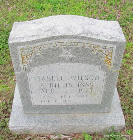 WILSON, ISABELL - Monroe County, Arkansas | ISABELL WILSON - Arkansas Gravestone Photos