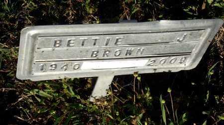 BROWN, BETTIE J - Monroe County, Arkansas | BETTIE J BROWN - Arkansas Gravestone Photos