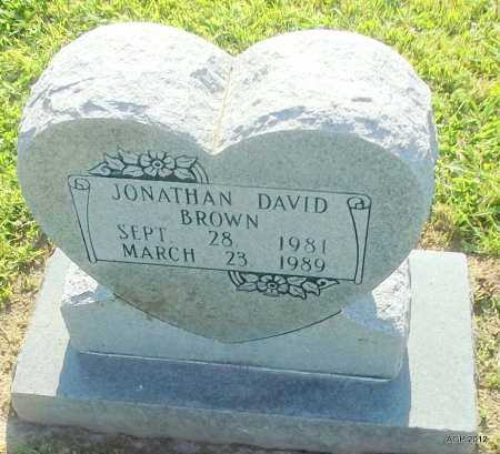 BROWN, JONATHAN DAVID - Monroe County, Arkansas | JONATHAN DAVID BROWN - Arkansas Gravestone Photos