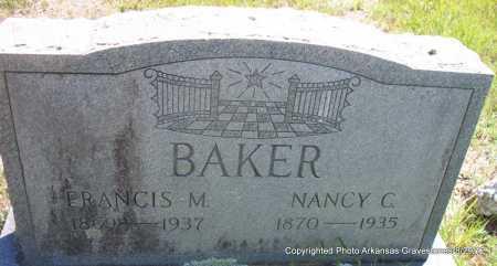 BAKER, FRANCIS M - Montgomery County, Arkansas | FRANCIS M BAKER - Arkansas Gravestone Photos