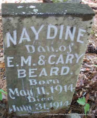 BEARD, NAYDINE - Montgomery County, Arkansas | NAYDINE BEARD - Arkansas Gravestone Photos