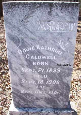 CALDWELL, DOVIE KATHRINE - Montgomery County, Arkansas | DOVIE KATHRINE CALDWELL - Arkansas Gravestone Photos