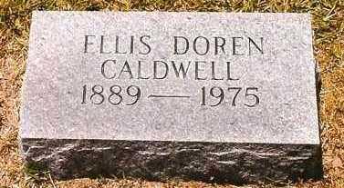 CALDWELL, ELLIS DOREN - Montgomery County, Arkansas   ELLIS DOREN CALDWELL - Arkansas Gravestone Photos