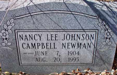 JOHNSON CAMPBELL, NANCY LEE - Montgomery County, Arkansas | NANCY LEE JOHNSON CAMPBELL - Arkansas Gravestone Photos