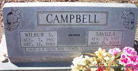 CAMPBELL, SAVILLA - Montgomery County, Arkansas | SAVILLA CAMPBELL - Arkansas Gravestone Photos