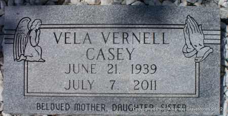 CASEY, VELA VERNELL - Montgomery County, Arkansas | VELA VERNELL CASEY - Arkansas Gravestone Photos