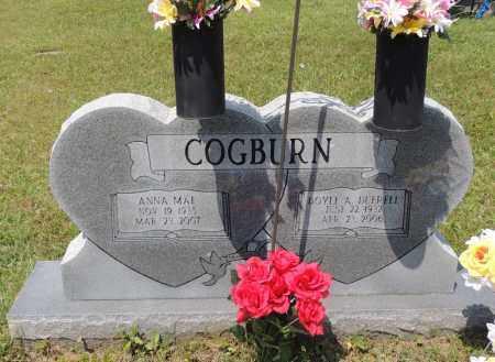COGBURN, ANNA MAE - Montgomery County, Arkansas | ANNA MAE COGBURN - Arkansas Gravestone Photos