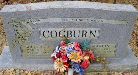 COGBURN, MARVIN - Montgomery County, Arkansas | MARVIN COGBURN - Arkansas Gravestone Photos
