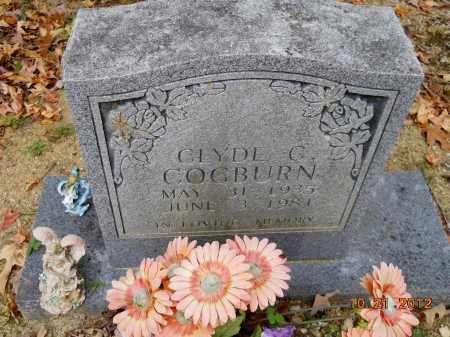COGBURN, CLYDE C - Montgomery County, Arkansas   CLYDE C COGBURN - Arkansas Gravestone Photos
