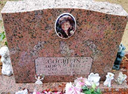 COGBURN, DORA BELL - Montgomery County, Arkansas | DORA BELL COGBURN - Arkansas Gravestone Photos